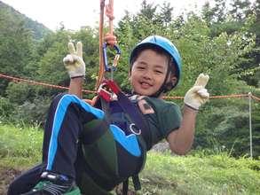 Ready for tree climbing!