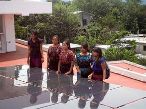 The beginnings of a women's solar coop