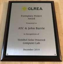 Exemplary Project Award
