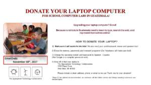 Laptop Drive Flyer
