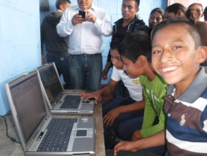 Solar Computer Lab at Tiritibol public school