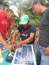 Community Circuits & Solar Santa Isabel March 2018