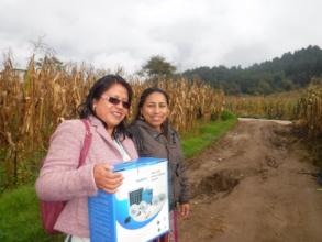 Rosy and Marilena, MPL business mentors