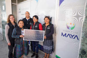 Mayan Power and Light Team reopens office, 2021