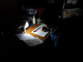 Homework by Solar Light