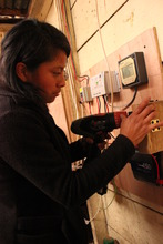 Wiring the Solar Control Panel