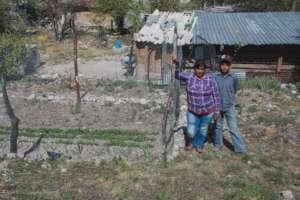 Family garden in Nuevo Leon.