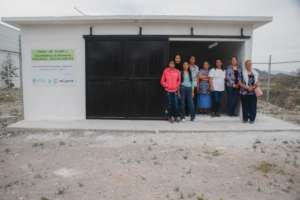 Solid waste management unit in Coahuila.