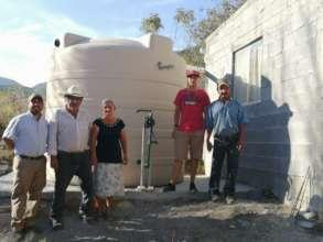 Rainwater harvesting system in Nuevo  Leon
