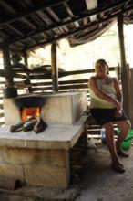 Clean cookstove in rural Maya community