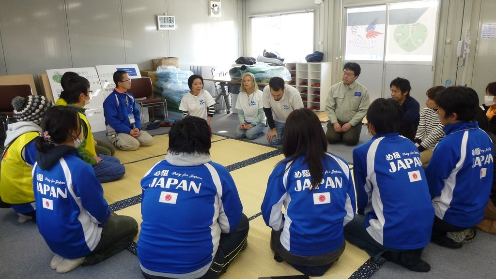 Rebuilding 10000 lives in Japan - youth leadership