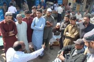 Pervaiz speaks on appropriate disability ettiquete