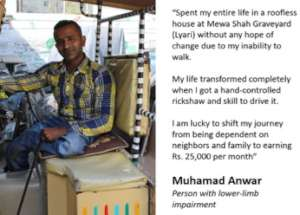 Meet Anwar - Economically Empowered