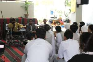 Awareness Raising Session at Lyceum School Karachi