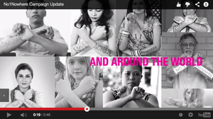 Watch our No1Nowhere campaign update video!