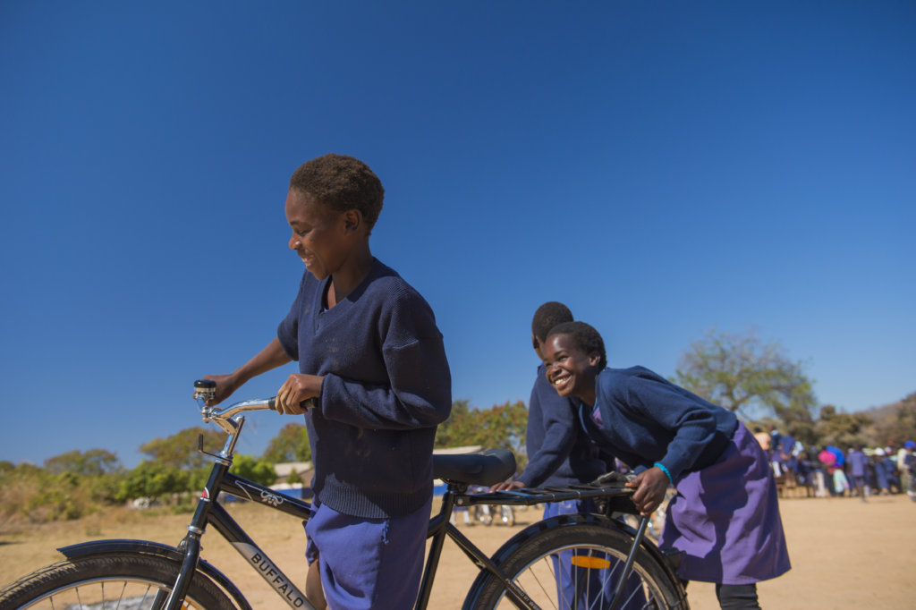 Distribute 200 Bicycles to Girls for Education