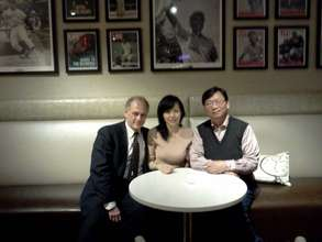 Meeting With Dr. Yan, Head of Shenzhen Program