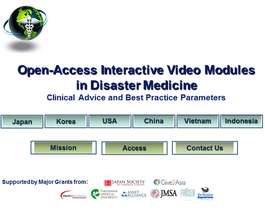 New IMCRA Access Page