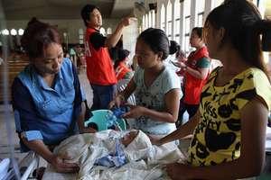 Hospital in Tacloban (via Reuters)