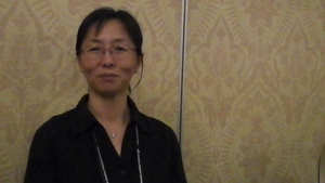 Dr. Liu addressing issues of diabetes in China