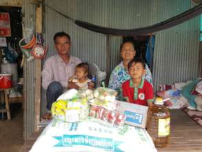 Family received relief support