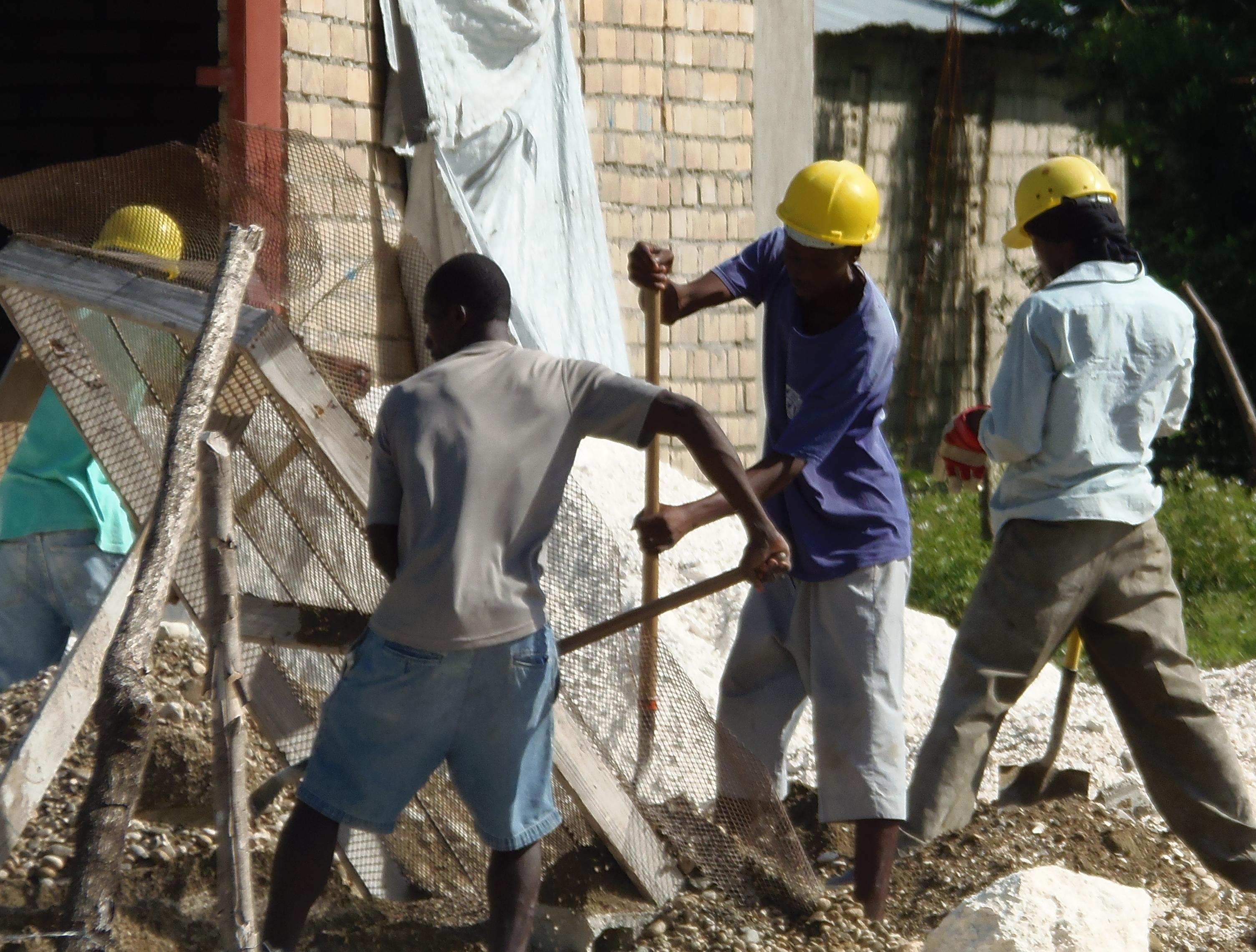Building Jobs In Haiti With Blocks