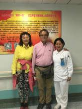 Shan Shan (CEO), Dr Detrano (Founder) & He Juan