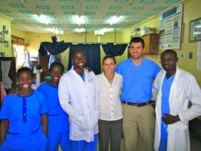 GEC team in ED at Nyakibale