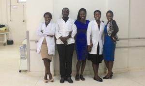 GEC team at Masaka Hospital