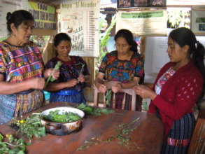 Don Manuel's wife teaches how to prepare herbs