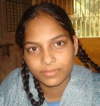 Varsha loves her friends in school!