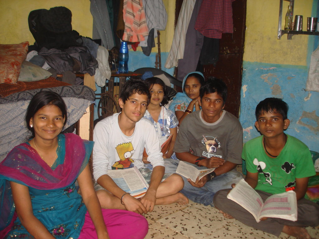 Preventing school dropout of 400 children in India