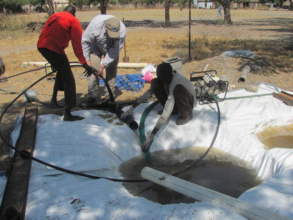 Clean water for 400 school children in South Sudan