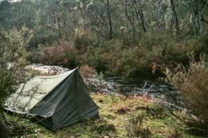 A secondhand and solid Woll tent