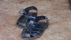 shoes for mending