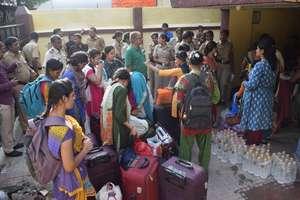 Repatriation of 75 girls + 1 child  to Bangladesh.