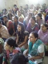 Mr. Bhatt, Giving a discourse to Survivor Girls