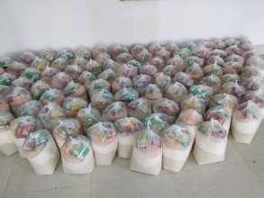 Ration Kits (dry food) for Distribution