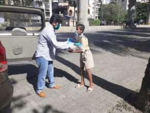 Food Kits Distribution to the Needy people