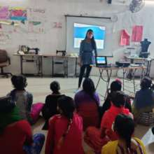A Session on healthy eating habits