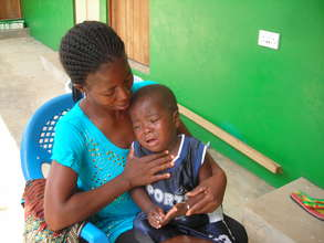Provide crucial care to 15 AIDS patients in Ghana