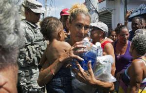 Emergency supplies. Credit: FEMA, Yuisa Rios