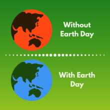 Earth Day 50 is here!