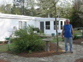 Robert and his newly energy efficient home