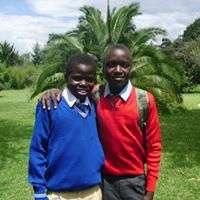 Boys in their uniforms for school