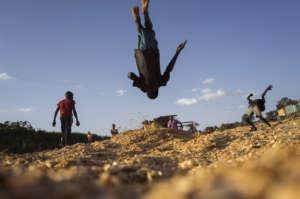 Street style acrobatics