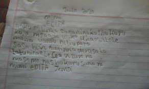 Editha's Letter