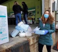 Diaper distribution