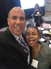 Selfie with Senator Cory Booker!