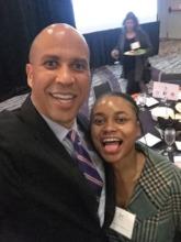 Selfie with Senator Cory Booker!
